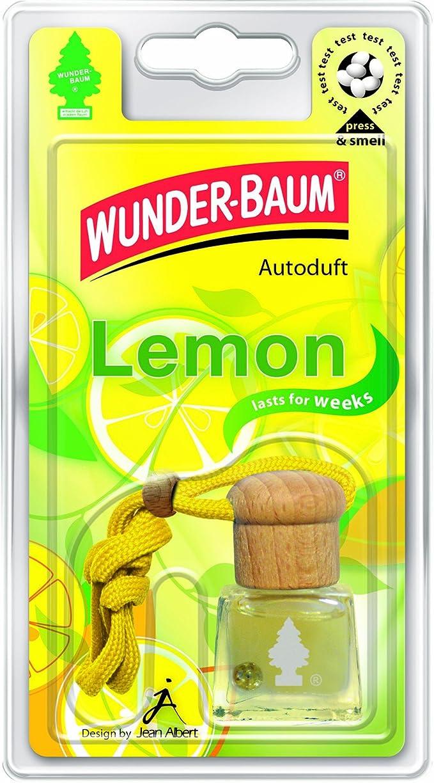 Wunder Baum 461201 4 Lufterfrischer 4 Er Set Duftflakon Lemon Auto