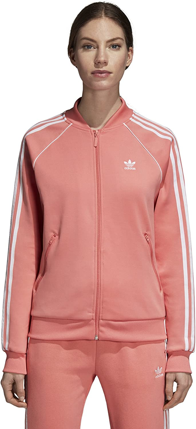 Adidas Originals Women's Superstar Tracktop, Tactile pink, L