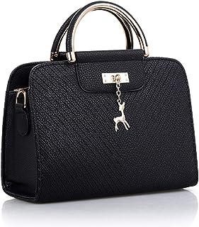 Women Leather Bag Large Capacity Shoulder Bags Casual Tote Simple Top-handle Hand Bags