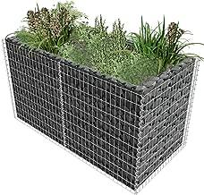 Tidyard Gabion Basket Planter Raised Vegetable Flower Bed Steel 71
