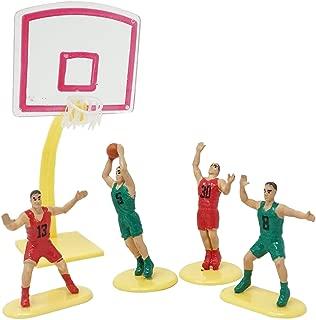 Basketball Team Cake Topper (4 Players)