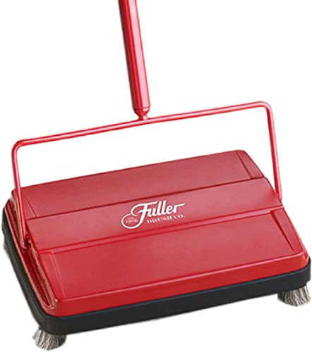 "Fuller Brush 17052 Electrostatic Carpet & Floor Sweeper - 9"" Cleaning Path - Lightweight - Ideal for Crumby Messes - ..."
