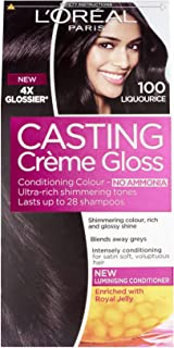 L'Oreal Paris Casting Creme Gloss 100 Black Licorice Haircolor