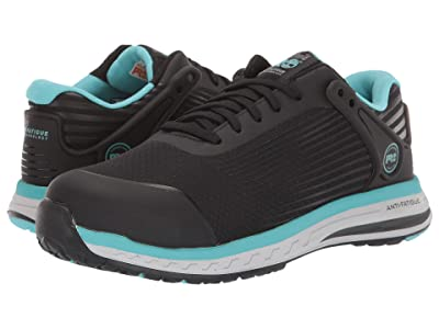 Timberland PRO Drivetrain Composite Safety Toe (Black/Blue) Women