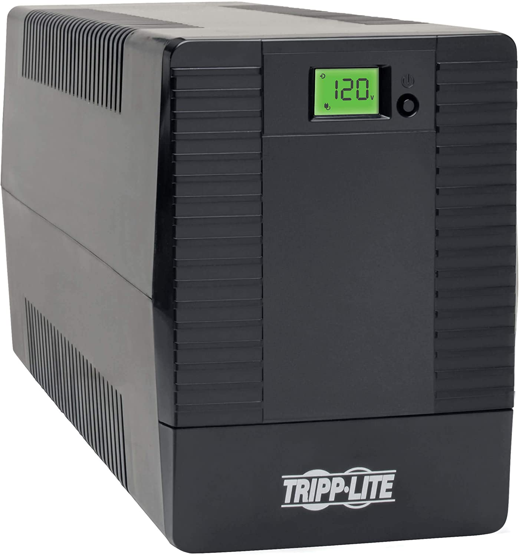 Tripp LiteSMART1500LCDTXL 1440VA 1200W UPS Smart Tower Battery Back Up Desktop AVR USB LCD