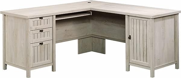 Sauder 419956 Costa L 书桌粉笔栗色饰面