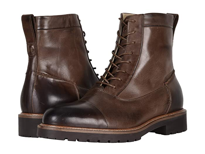 Men's 1920s Shoes History and Buying Guide Ross  Snow Riccardo SP Brown Mens Shoes $345.00 AT vintagedancer.com