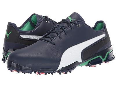 PUMA Golf Ignite ProAdapt X (Peacoat/Green) Men