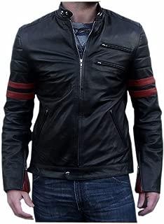 brandMe Men's Genuine Leather Pure Lambskin Biker Jacket MM459