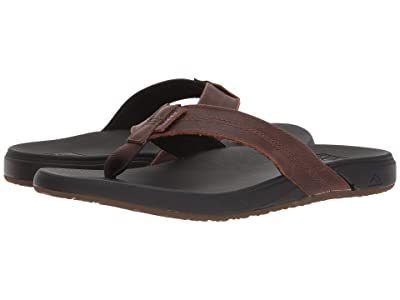 Reef Cushion Bounce Phantom LE (Black/Brown) Men