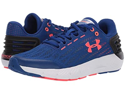 Under Armour Kids UA BGS Charged Rogue (Big Kid) (Royal/White/Beta Red) Boys Shoes
