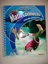 Math Connects Course 2 South Carolina Edition