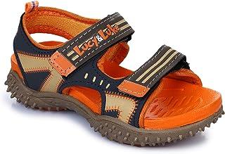 Footfun (from Liberty) Unisex Orange Fashion Sandals - 12 Kids UK/India (31 EU) (8074030122310)