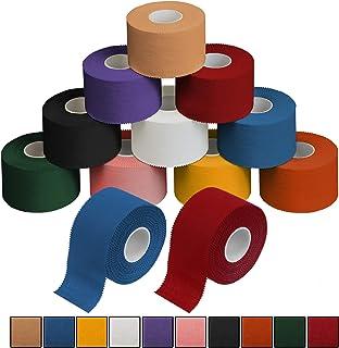 ALPIDEX 12 x Cinta Adhesiva Deportiva 3,8 cm x 10 m Sport Tape, Color:Colores Surtido