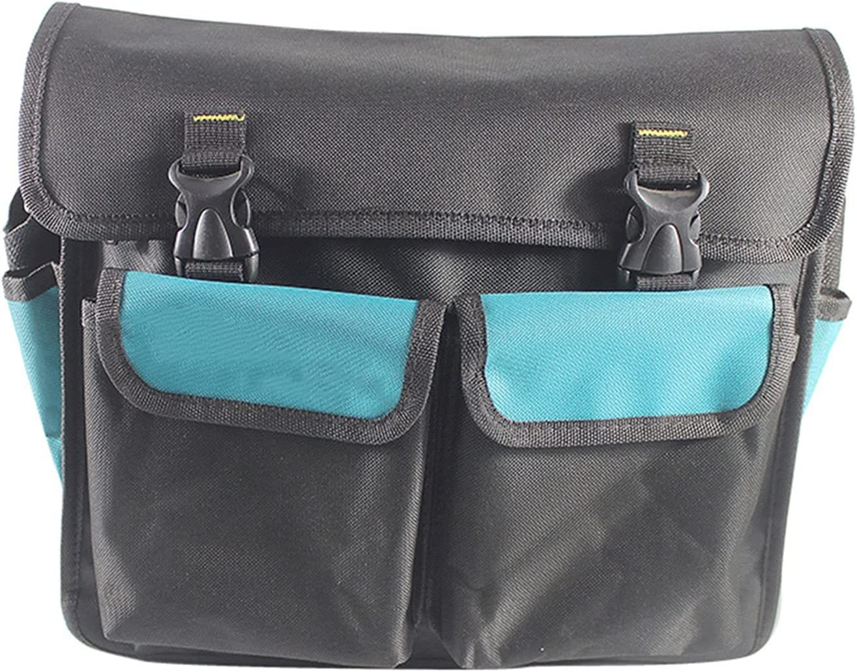 JKXWX Tool Bag Electrician's Toolkit Tool Storage Bag Oxford Clo