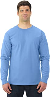 Fruit of the Loom Mens 5 oz. 100% Heavy Cotton HD Long-Sleeve T-Shirt(4930)