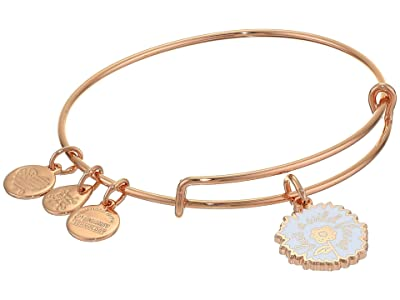 Alex and Ani Color Infusion Bangle Bracelet (Rose Gold/She