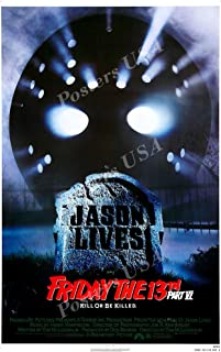 Posters USA Friday the 13th Part VI Kill or be Killed GLOSSY FINISH Movie Poster - FIL887 (24