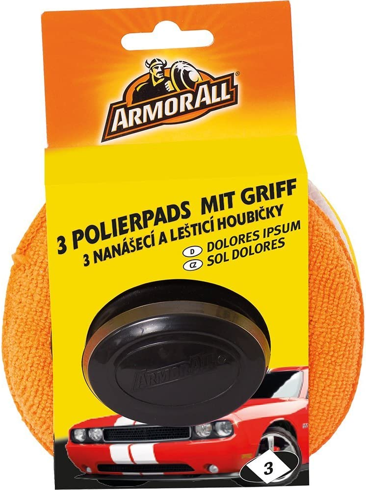 Armor 31515L 3Polishing Pads Handle with Max 67% OFF of fixed price 74% OFF