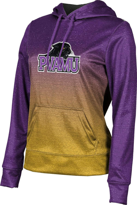 Prairie View A&M University Girls' Pullover Hoodie, School Spirit Sweatshirt (Ombre)