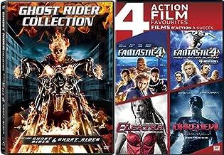 Marvel Studios 6-Pack Collection Fantastic Four / Fantastic Four Rise Of The Silver Surfer / Elektra / Daredevil / Ghost Rider / Spirit of Vengeance DVD Set