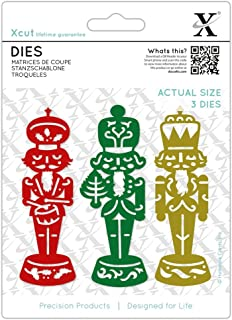 Xcut (Docrafts) Metal Die Set Paper Card Craft (3pcS) - Nutcrackers