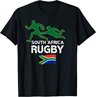 South African Rugby Bokke South Africa Flag T-Shirt