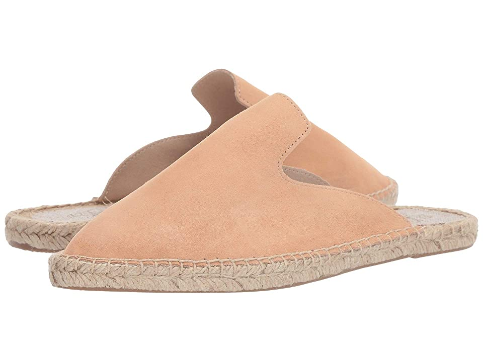 Image of 42 GOLD Bermuda (Sand Suede) Women's Flat Shoes