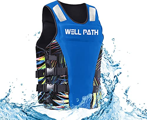 lowest RiamxwR outlet sale Adults Water Sports Vest, Lifevest for Adult, Jacket Lightweight Waistcoat outlet online sale Surfing Boating Water Sports Supplies outlet online sale