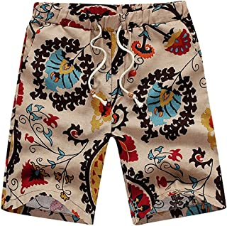 Yt92Pl@00 Mens 100/% Polyester Topical Fruit Swim Trunks Casual Bathing Suits with Pockets