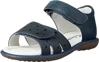 Clarks Girls' Parade Fashion Sandals, Navy