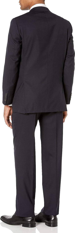 Hart Schaffner Marx Mens 2 Button New York Fit Side Vent Suit