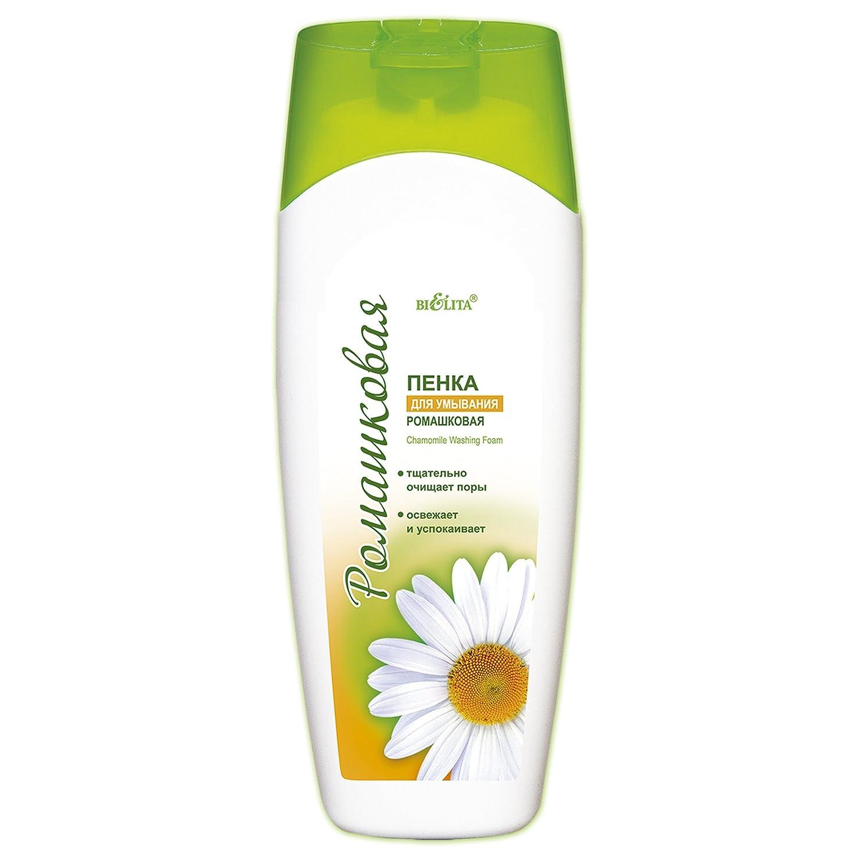 気配りのある危険を冒します先Bielita & Vitex | Chamomile Line | Face Clenaser Foam For All Skin Types | Chamomile | Allantoin | Vitamin E | 250 ml