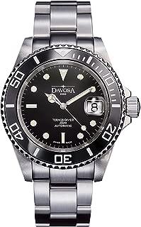 Davosa Swiss Made Men Wrist Watch, Ternos Ceramic Professional Automatic Analog Display & Luxury Bezel