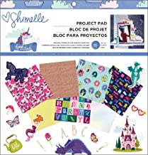 """American Crafts Shimelle Head In The Clouds Project Pad 12""""X12"""" 33/Pkg-"""