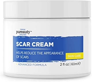 Scar Cream for Face & Stretchmark cream, Reduce appearance of Acne Scars and Old Scars, Stretch Mark Scar Removal Cream Al...