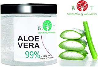 99% Gel Puro de Aloe Vera 200 ml Regenerador 100% natural