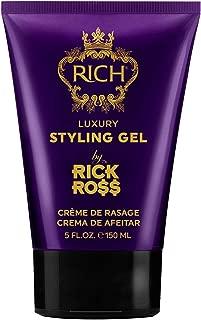 RICH by Rick Ross Luxury Styling Gel with Hemp Seed Oil 5 FL OZ