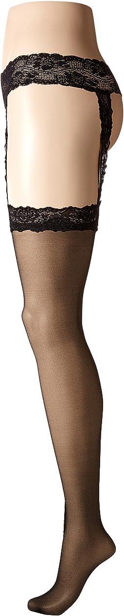 Calvin Klein Stocking w/ Lace Garter