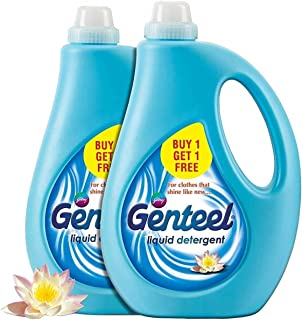 Genteel Liquid Detergent - Pack of 2 (1kg+1kg)