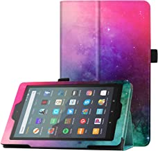 Famavala Folio Case Cover Compatible with 7-Inch Fire 7 Tablet [9th / 7th Generation, 2019/2017 Release] (MintGaxy)