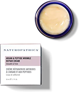 Naturopathica Argan & Peptide Wrinkle Repair Cream, 1.7 oz. | Age Defense Daily Moisturizer Regenerates Skin for a Firmer, Younger-looking Complexion