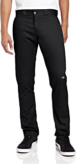 dickies Men's Skinny Straight Double Knee Work Pant