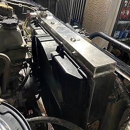 OzCoolingParts 93-97 Toyota /& Lexus Radiator 4 Row Core Aluminum Radiator for 1993 1994 1995 1996 1997 Toyota Land Cruiser//Lexus LX450 4.5l L6