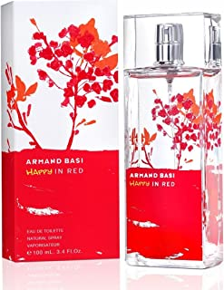 Armand Basi Red Woman For Women Eau De Toilette With Spray, 100 ml