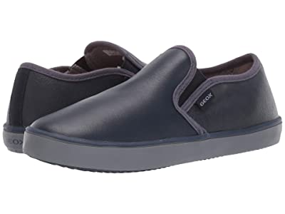 Geox Kids Jr Kilwi 33 (Little Kid/Big Kid) (Navy) Boys Shoes