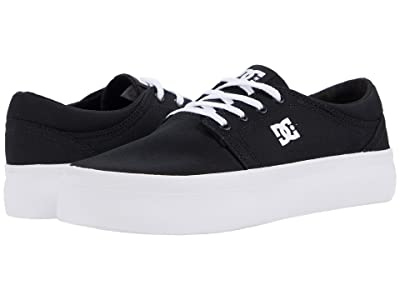 DC Trase Platform (Black/White) Women