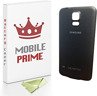 MOBILEPRIME Black Replacement Rear Back Cover Compatible for Samsung Galaxy S5