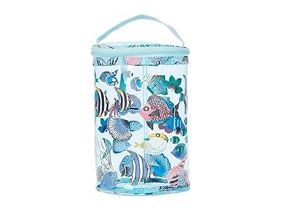 Vera Bradley Lotion Bag (Paisley Wave Fish) Handbags