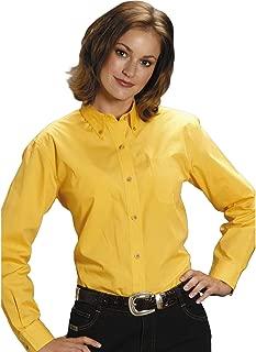Roper Women's Amarillo Solid Button-Down Poplin Shirt Plus